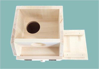 画像1: セキセイインコの巣箱(中)